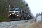 NS 9583 splitting the signals near Medlock Bridge Rd.